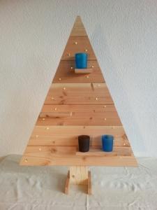 Kerstboom douglas hout